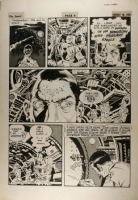 Wally Wood Outer Space Spirit Comic Art