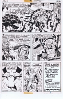 Kirby Atlas Page 20-- SOLD, Comic Art