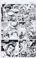 Kirby OMAC SOLD, Comic Art