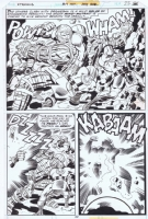 Kirby Eternals, Comic Art