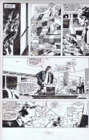 Jorge Zaffino Punisher GN B Comic Art