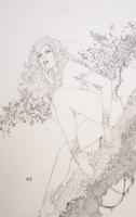 Ace Continuado - Poison Ivy Comic Art