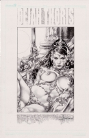 Dejah Thoris - unpublished commission Comic Art