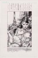 Dejah Thoris - unpublished commission Comic Art