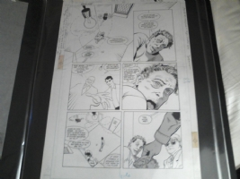 Animal Man #10, Pg. 12, Comic Art