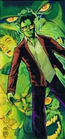 Hulk 2014 Marvel Premier sketch card Comic Art