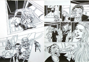 Dr Doctor Who Cruel Sea Comic Art