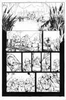 Decoy Menagerie Page 5 Comic Art