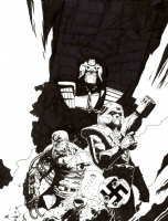 Judge Dredd Megazine 3.69 Comic Art