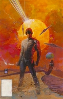 Dune Paperback Cover Comic Art