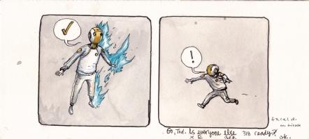It Will All Hurt - Go, Tod. Comic Art