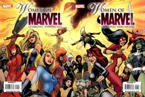 Women of Marvel Finished Cover by Alan Davis Comic Art