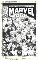 Marvel Age #32 Cover Art by Paul Smith (Marvel 1985) Comic Art