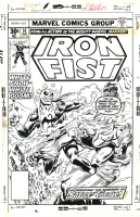 Iron Fist #14 Cover Art by Al Milgrom (Marvel 1977) Comic Art