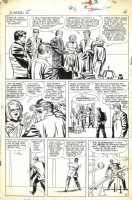 X-Men #5 Page 4 Art by Jack Kirby (Marvel 1964) Comic Art
