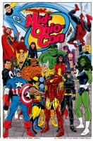 Mid-Ohio-Con Promotional Poster by John Byrne (2008) Comic Art