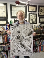 John Byrne X-Men Vs. Krakoa 20  x 30  Commission (Studio Visit) Comic Art