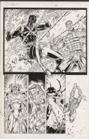 Backlash #5, Pg. 16 by Booth and Hope, Comic Art