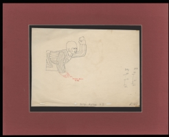 Yellow Submarine Production Cel drawing of Ringo, Comic Art