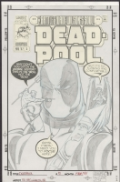 Deadpool (97) #5 Cover by Ed McGuinness, Comic Art