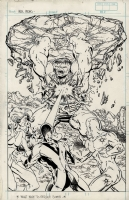 Incredible Hulk #336 Unpublished Cover by Todd McFarlane, Comic Art