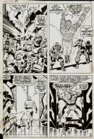 Fantastic Four #99, Pg. 10 by Kirby and Sinnott Comic Art