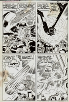 Fantastic Four #99, Pg. 18 by Kirby and Sinnott Comic Art