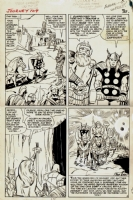 Journey into Mystery #109, Pg. 5 by Kirby and Colleta Comic Art