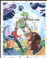 Star Trek Puzzle Cover, Comic Art