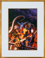 X-Men/Captain Universe by Brothers Hildebrandt, Comic Art