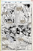 Sensational She-Hulk #21 Pg. 20 by Artis and Sanders III, Comic Art
