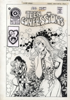Teen Confessions #91 Cover by Enrique Nieto, Comic Art