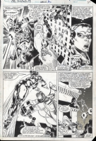 Avengers Annual #10 Pg. 33 by Michael Golden and Armando Gil, Comic Art