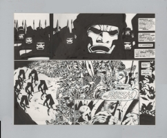 Frank Miller's 300 #4 Double Page Splash Pgs 20-21, Comic Art
