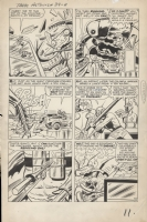 Tales to Astonish #39 Pg. 9 by Kirby and Ayers   The Vengeance of the Scarlet Beetle  Comic Art