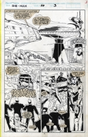 Sensational She-Hulk #22 Pg. 3 by Artis and Sanders III, Comic Art
