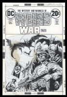 Weird War Tales #13 Cover by Luis Dominguez, Comic Art