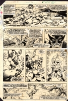 What If-1977 #31 Pg. 2 by Budiansky and Esposito, Comic Art