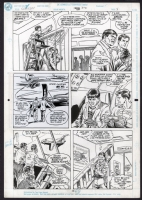 Adventures of Superboy #22 Pg. 3 by Swan and Statema, Comic Art
