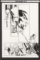 Black Panther #23 Pg. 12 by Turnbull and Regla, Comic Art