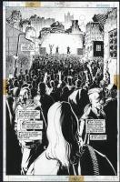 Azrael #56 Splash Pg. 15 by Robinson and Pascoe, Comic Art