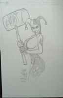 Harley Quinn, Comic Art