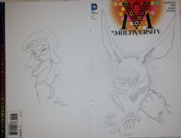 Multiversity #1 Sketch Cover Jam, Comic Art