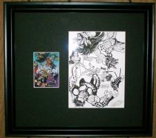 DV8 card art Comic Art