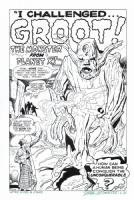 TALES TO ASTONISH #13 Splash RECREATION - 1st GROOT App! Hazlewood 175.00 Comic Art