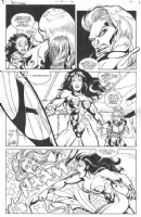 Wonder Woman and body doubles Comic Art