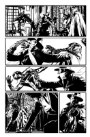 The Shadow #10 page 22, Comic Art
