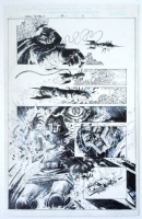 Dr Doom : The Emperor Returns #1 Page 11 Original Splash Art Doctor Doom By Leonardo Manco Comic Art