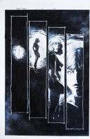 Doom 2000 ( Dr Doom ) #3 Page 21 Original Art Sue Storm The Invisible Woman By Leonardo Manco Comic Art