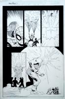 Spider-Man : Mysterio Manifesto #3 Page 19 Original Art By Lee Weeks Comic Art